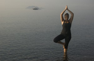 Diving and Yoga are a great match