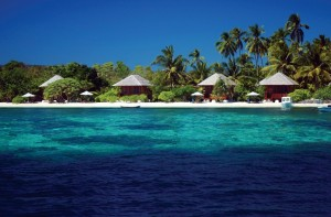 Wakatobi's beauutiful  Ocean Bungalows