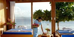 Gangga's beautiful Spa with sea views